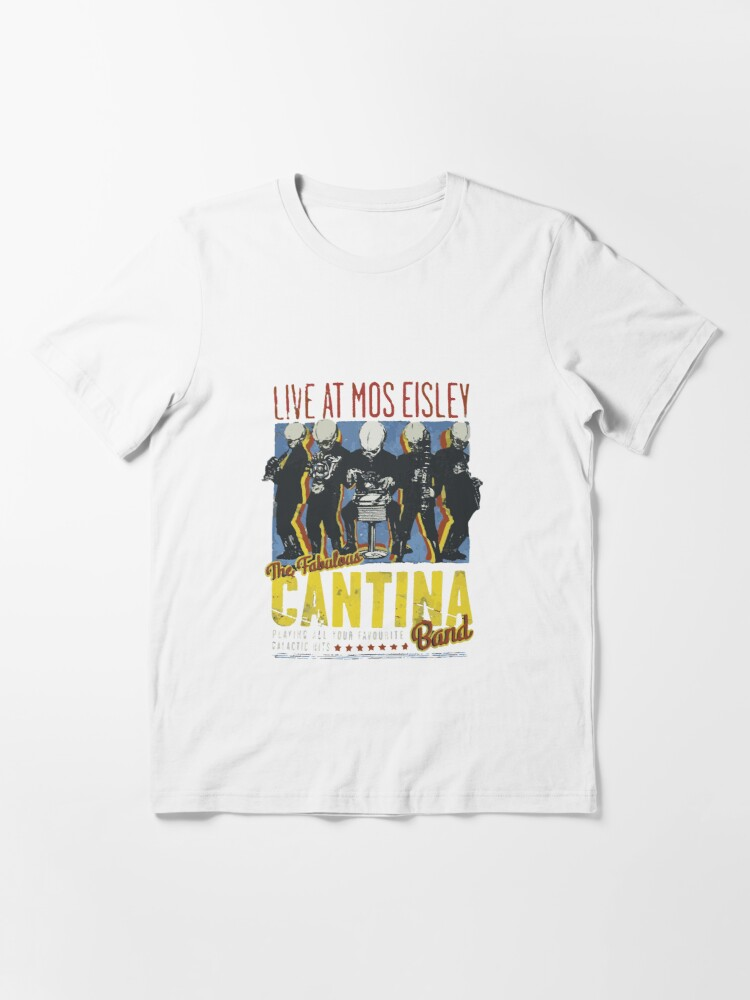 Alternate view of Cantina Band On Tour Essential T-Shirt