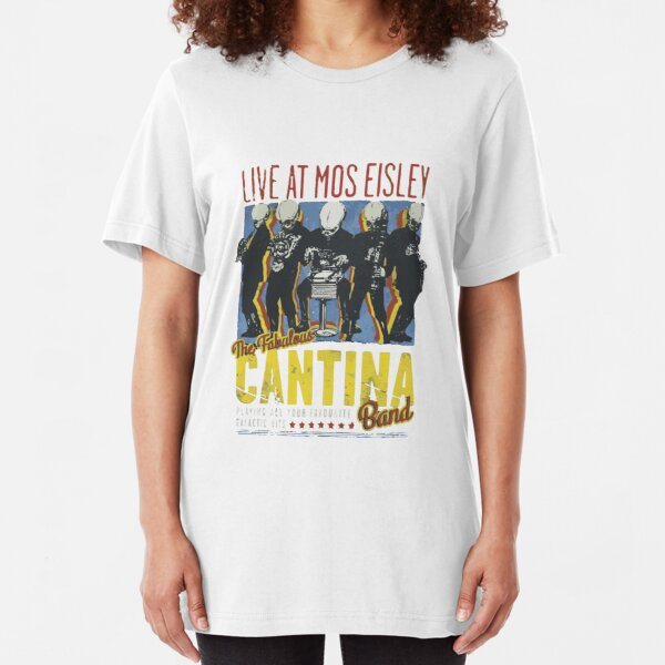 Cantina Band On Tour Slim Fit T-Shirt