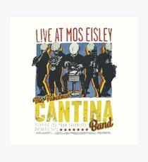 Cantina Band On Tour Art Print