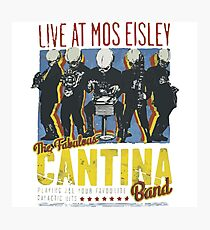 Cantina Band On Tour Photographic Print