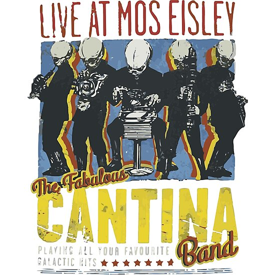 Cantina Band On Tour by Kavinskye