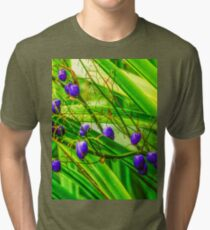 Leaves and Berries Tri-blend T-Shirt