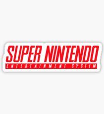 Super Nintendo Logo Sticker