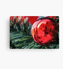 World in a Bauble Canvas Print