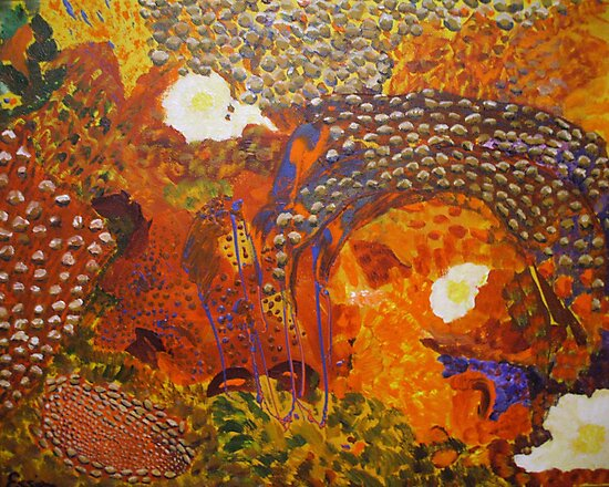 Dreamtime Breakfast - Colours of the Outback by Estelle O'Brien