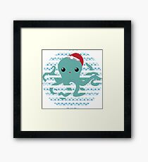 Octopus - snow 2014 limited time only !  Framed Print
