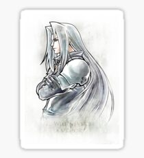 Sephiroth Artwork Final Fantasy VII Sticker