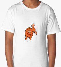 Curious Piggy Long T-Shirt