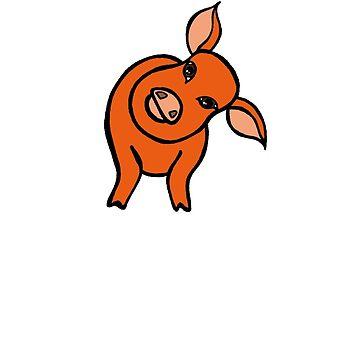 Curious Piggy by Munnaminx