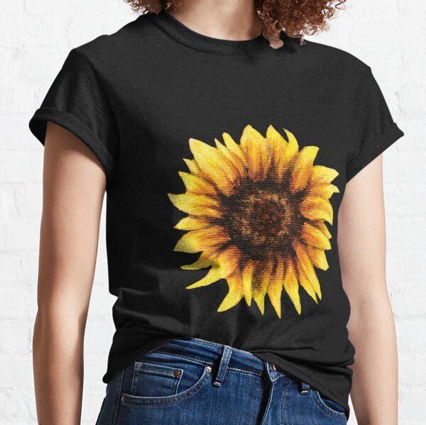 Sunflower Painting Classic T-Shirt