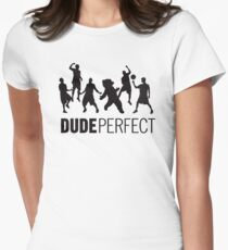 Dude Perfect Women's Fitted T-Shirt