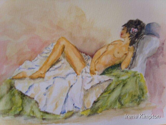 Lounging by Irene Kimpton
