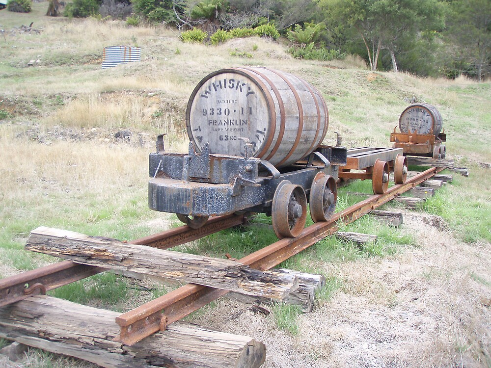 a wee dram or two - on supply - in a paddock in Tullah by gaylene