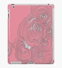 Topographic Rose iPad Case/Skin