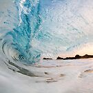 Foamy Morning Shorebreak  by Vince Gaeta