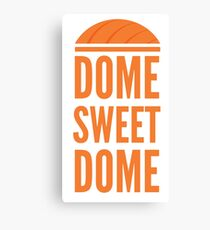 Dome Sweet Dome Canvas Print