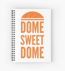 Dome Sweet Dome Spiral Notebook