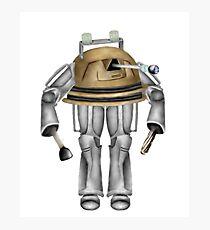 Dalek and Cyberman: Unite Photographic Print