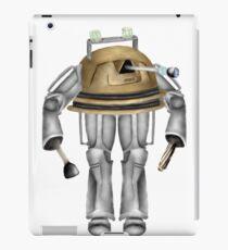 Dalek and Cyberman: Unite iPad Case/Skin