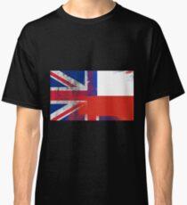 British Chilean Half Chile Half UK Flag Classic T-Shirt