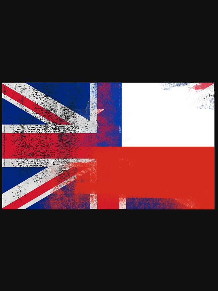 British Chilean Half Chile Half UK Flag by ozziwar