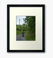 to home and hearth Framed Print