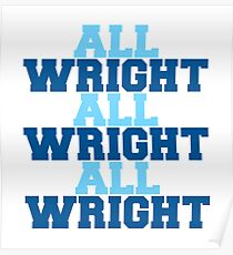 all wright x3 Poster
