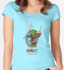 battle beasts 7. Horny Toad Women's Fitted Scoop T-Shirt