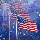 Three Flags by Rosalie Scanlon