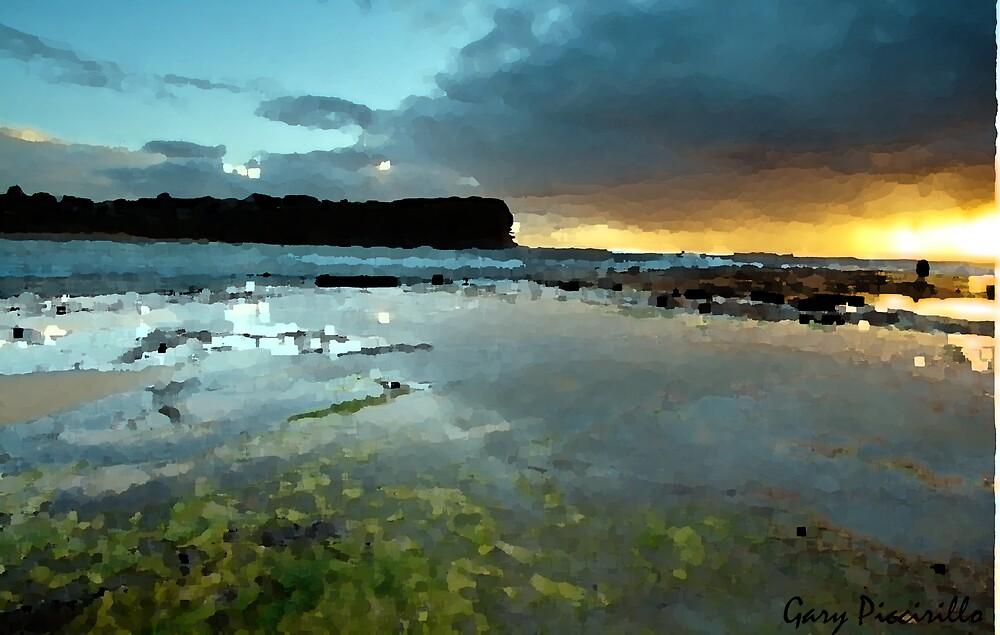 Colorful Beach by PiccirilloArt