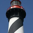 Top of St. Augustine Lighthouse by Dana Yoachum