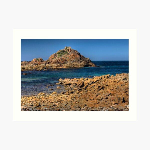 0518 Mimosa Rocks - NSW Art Print