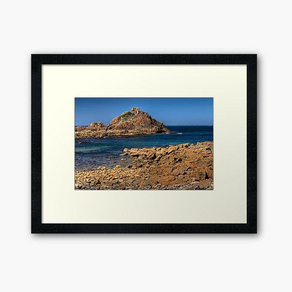 0518 Mimosa Rocks - NSW Framed Art Print