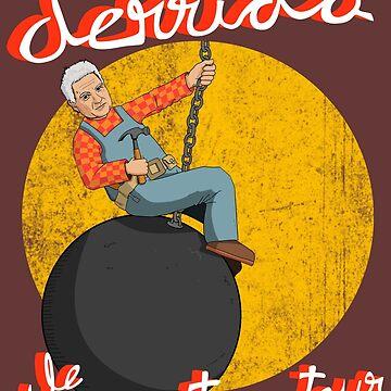 Derrida le Déconstructeur by LeVendeur