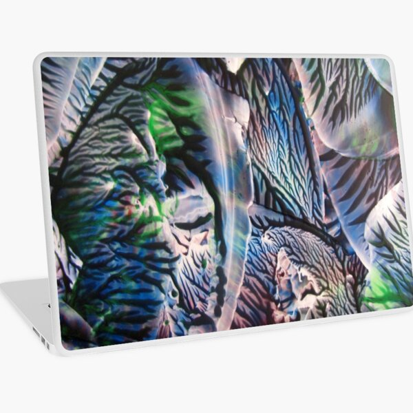 Polychromatic Agate Laptop Skin