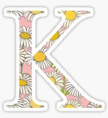 Kappa K Daisies Sticker