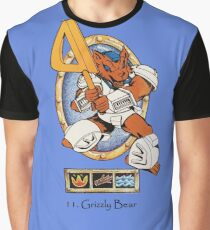 Battle beasts 11. Grizzly Bear Graphic T-Shirt
