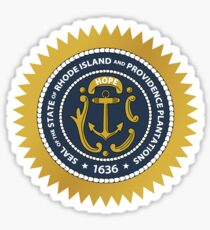 Rhode Island State Seal Sticker