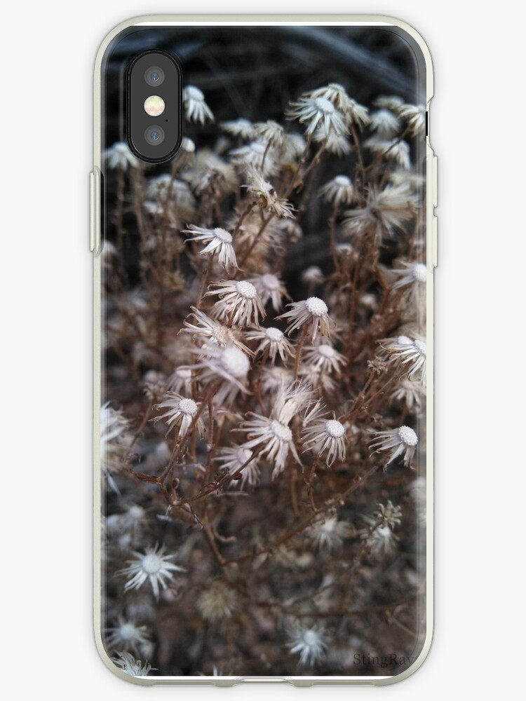White Desert Flowers Iphone Cases Covers By Theonlyraya Redbubble