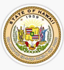 Hawaii State Seal Sticker