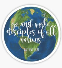 go and make disciples Sticker