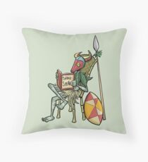 Shake Spear (by Richard Wallace) Throw Pillow