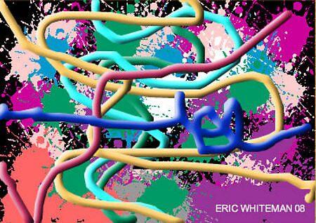 (A PEEK AT MADNESS) ERIC WHITEMAN ART  by eric  whiteman