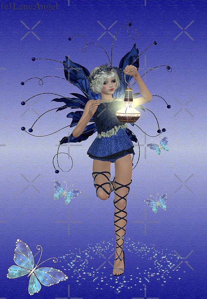 Blue Fairy by LoneAngel