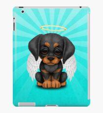 Cute Doberman Pincer Puppy Angel iPad Case/Skin