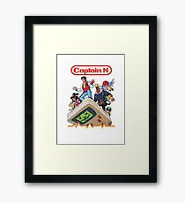 Captain N Framed Print