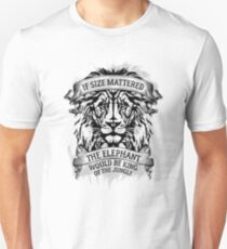 The Elephant Would Be King Jiu Jitsu T-Shirt