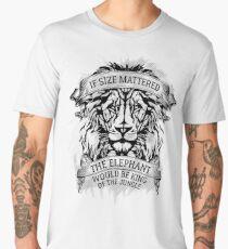 The Elephant Would Be King Jiu Jitsu Men's Premium T-Shirt