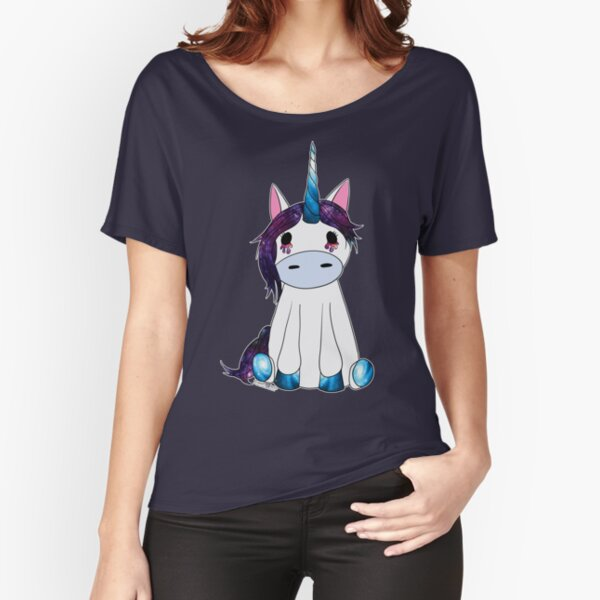 Creepy & Cute Galaxy Unicorn Relaxed Fit T-Shirt
