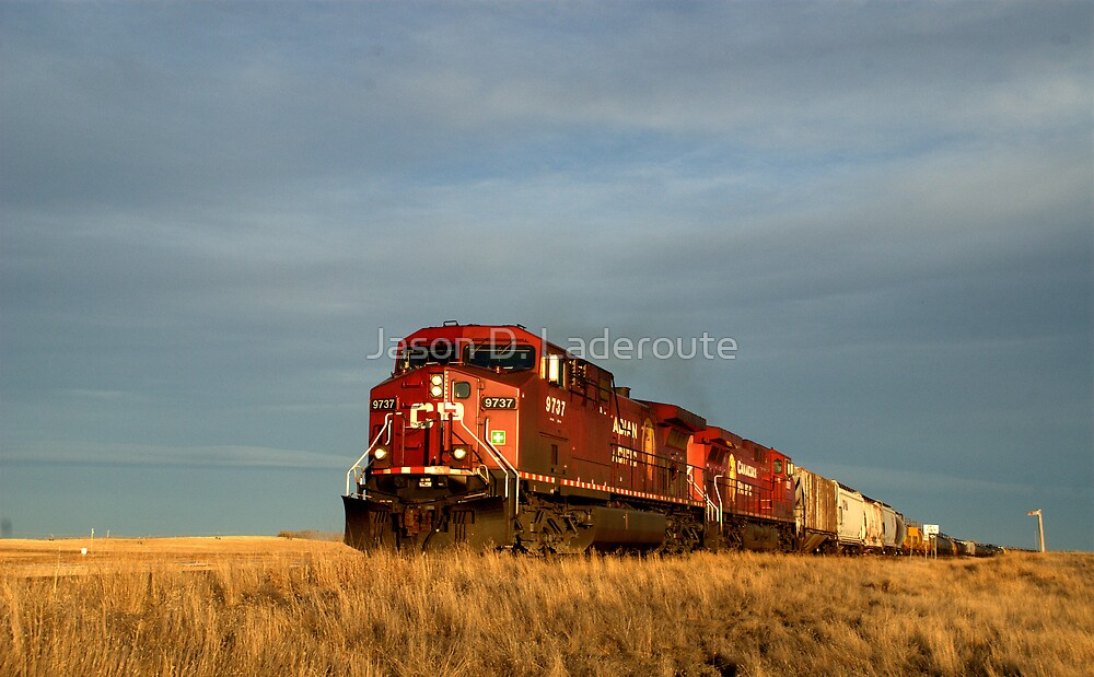 The Train, The Train! by Jason D. Laderoute